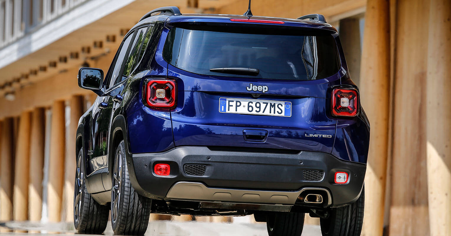Jeep Renegade 2019 trasera