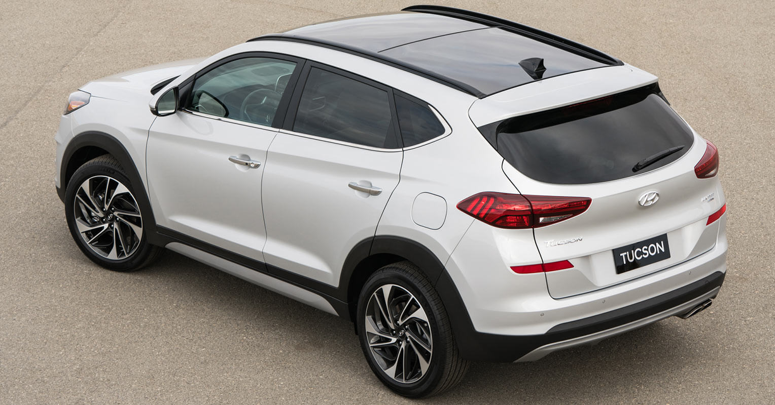 Hyundai Tucson 2018 trasera