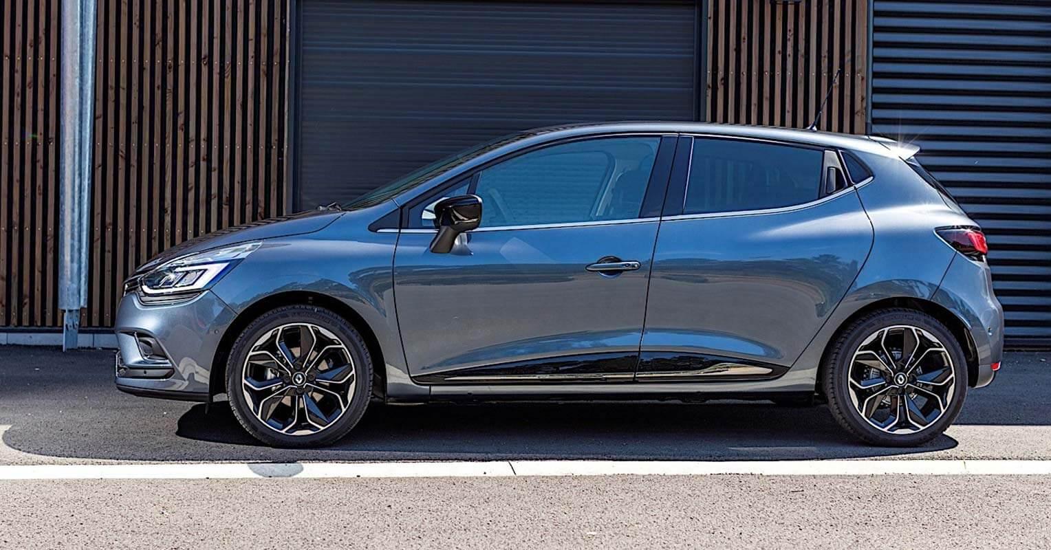 Lateral del Renault Clio 2018