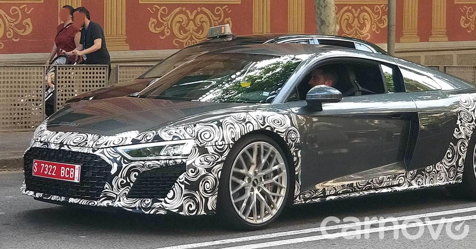 Audi R8 2019 camuflado