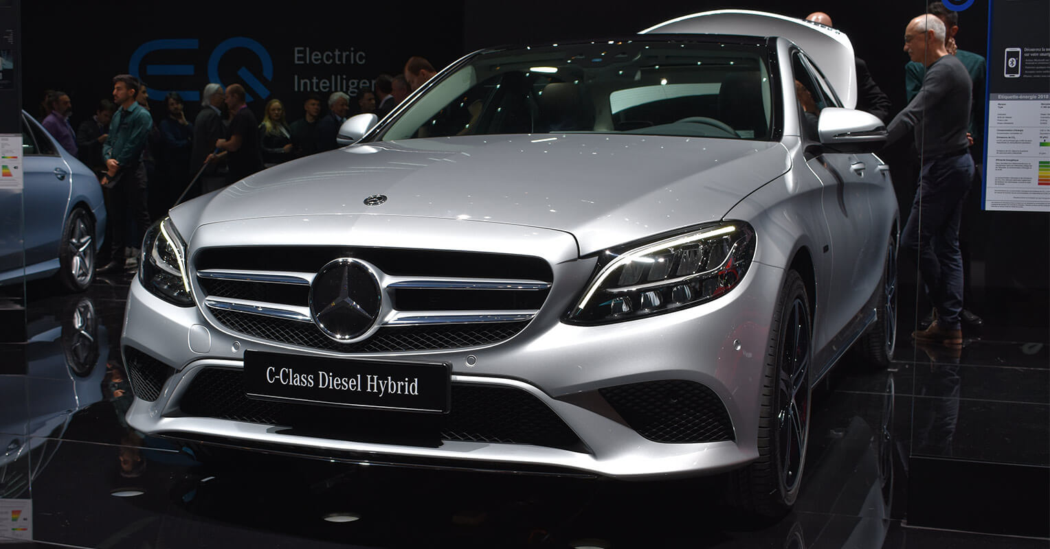 Frontal del Mercedes-Benz Clase C