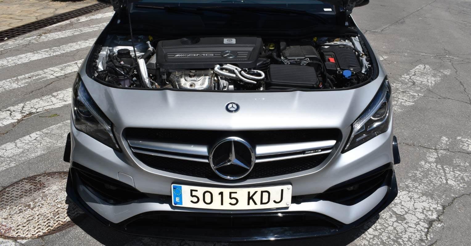Motor del Mercedes-AMG CLA 45