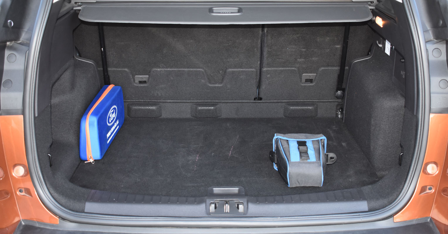 Maletero del Ford Kuga Titanium 2018