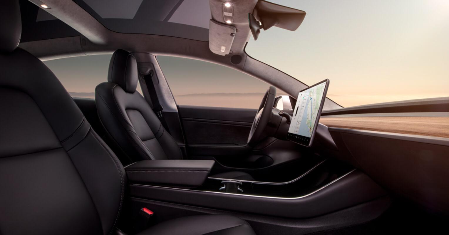 Model 3 interior