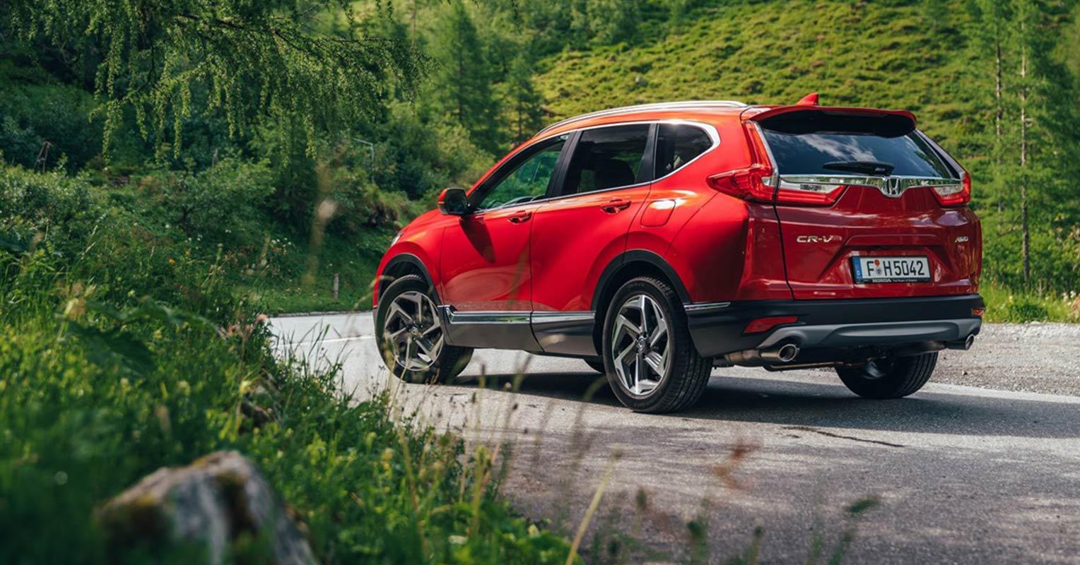 Trasera del Honda CR-V 2018