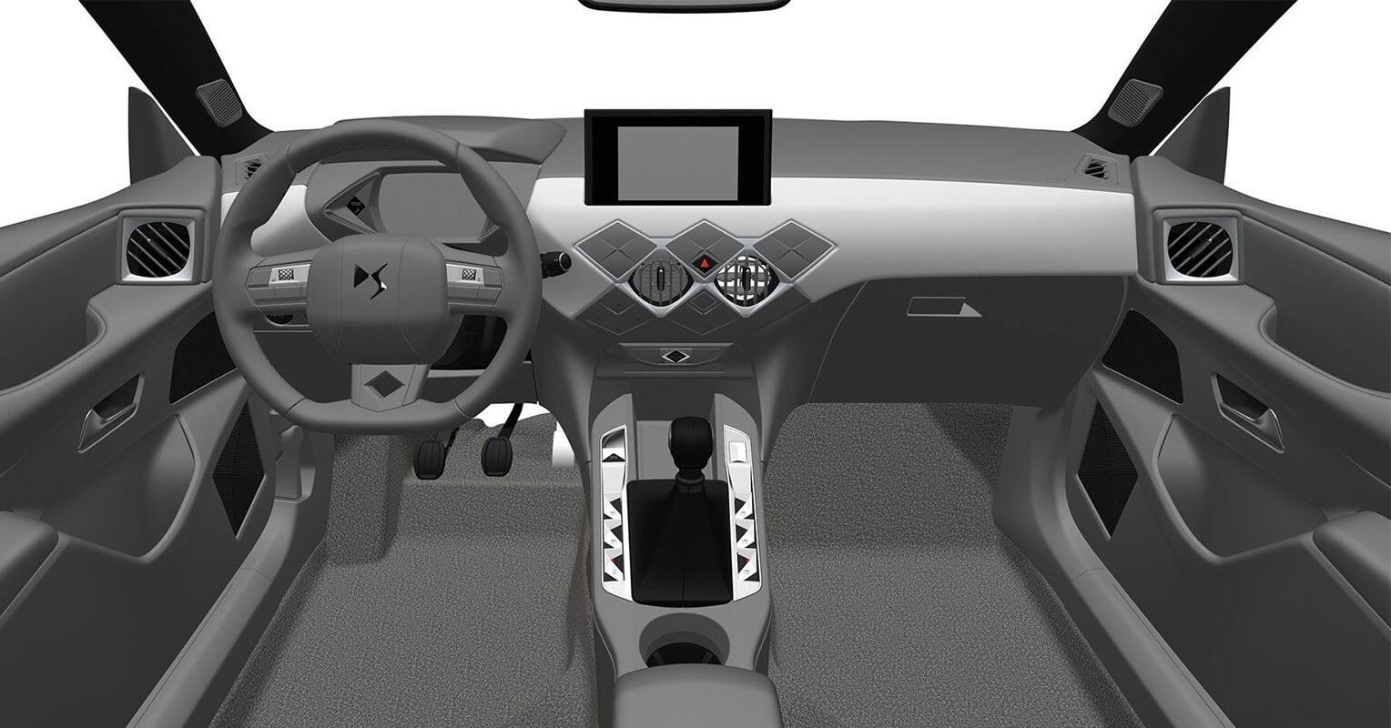 Interior del DS 3 Crossback