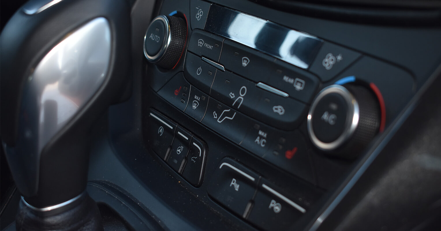 Consola central del Ford Kuga 2018