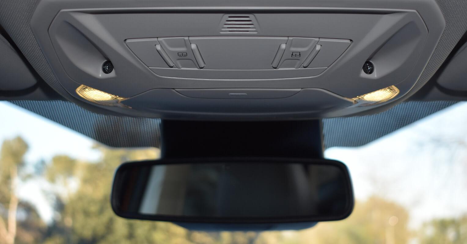 Espejo retrovisor del Ford Kuga 2018