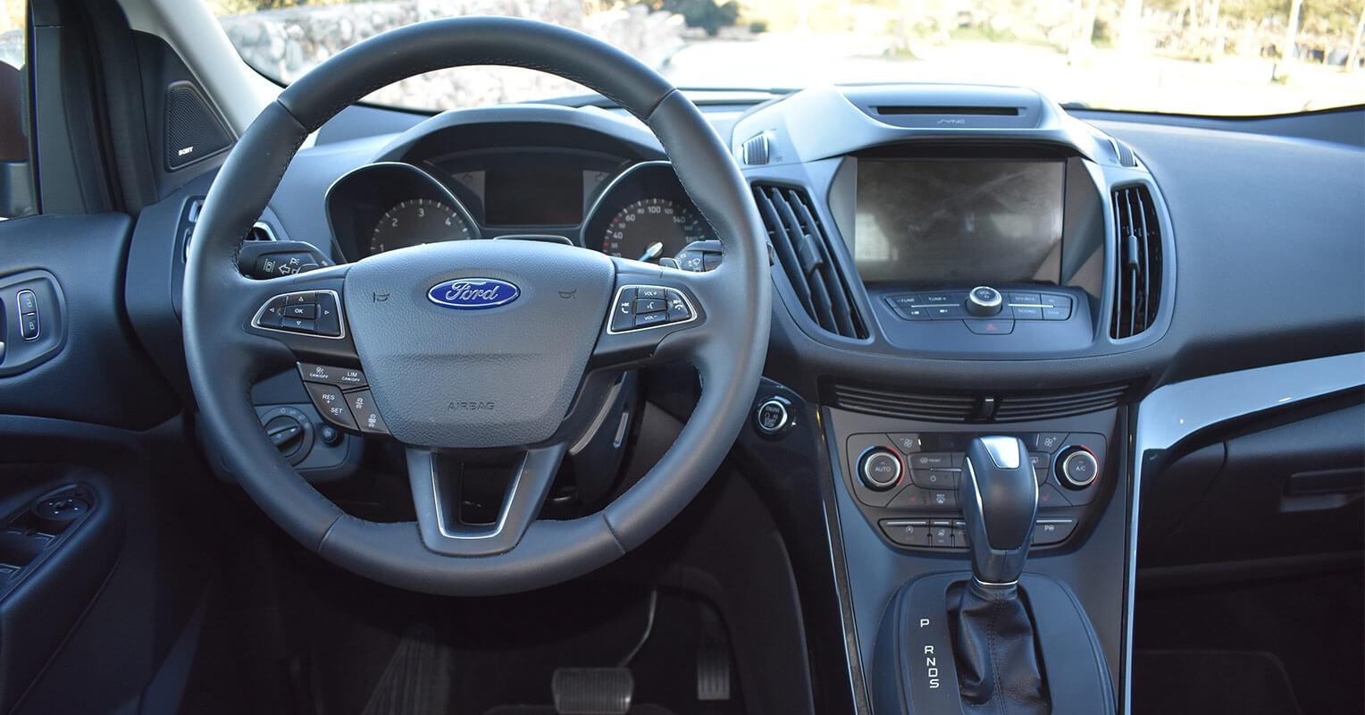 Interior del Ford Kuga 2018