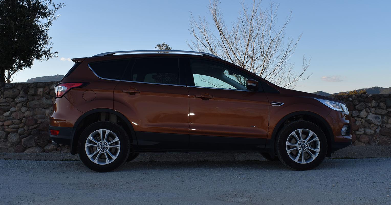 Perfil del Ford Kuga 2018