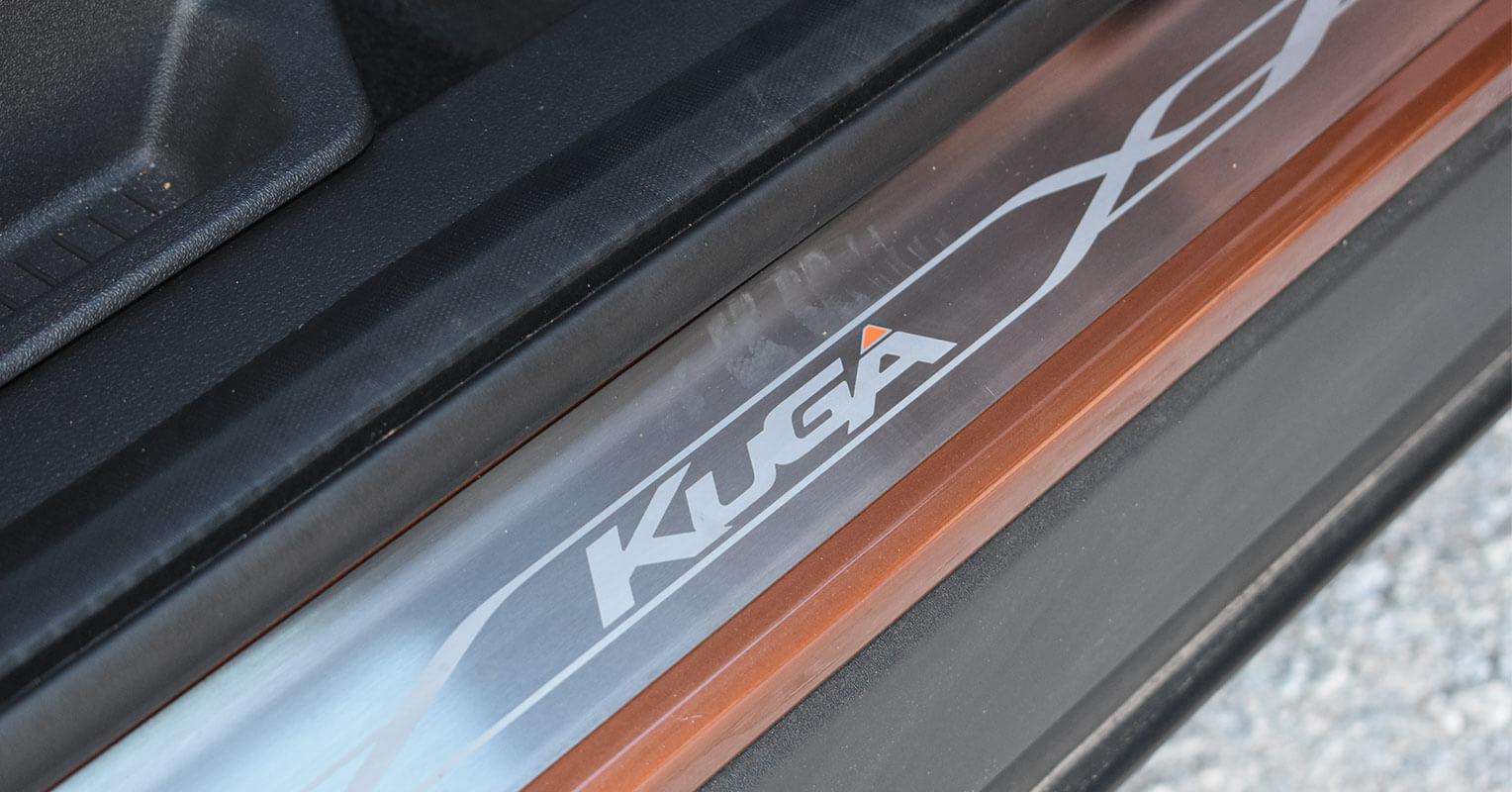 Umbral de la puerta del Ford Kuga 2018