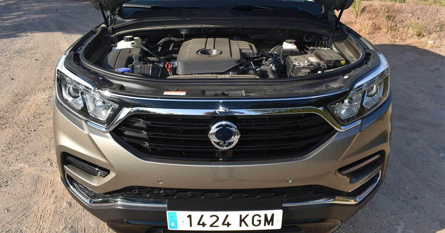 Motor del SsangYong Rexton 2018