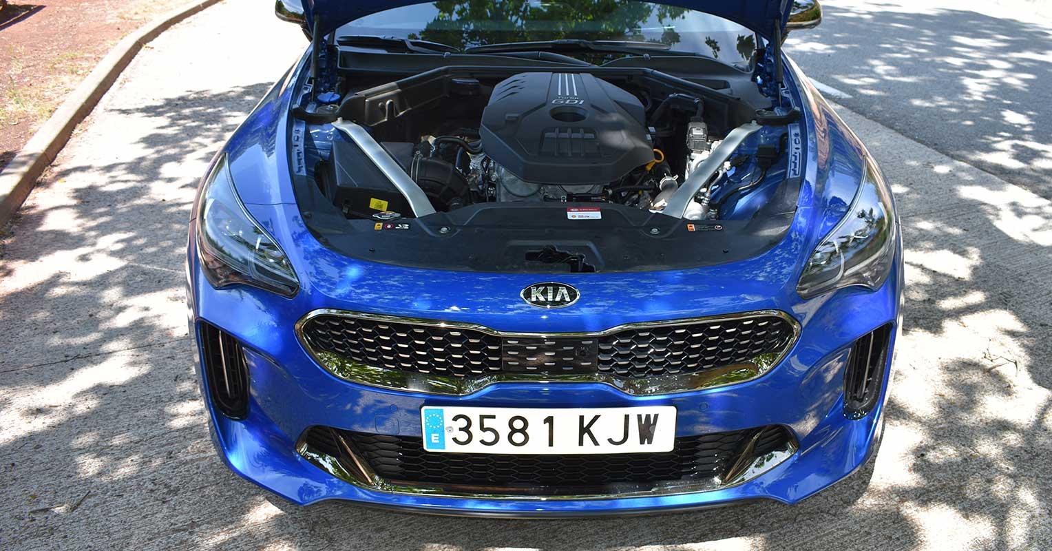 Motor del Kia Stinger