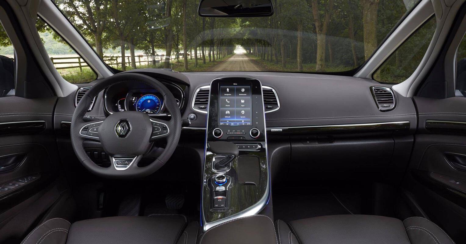 Interior del Renault Espace 2018