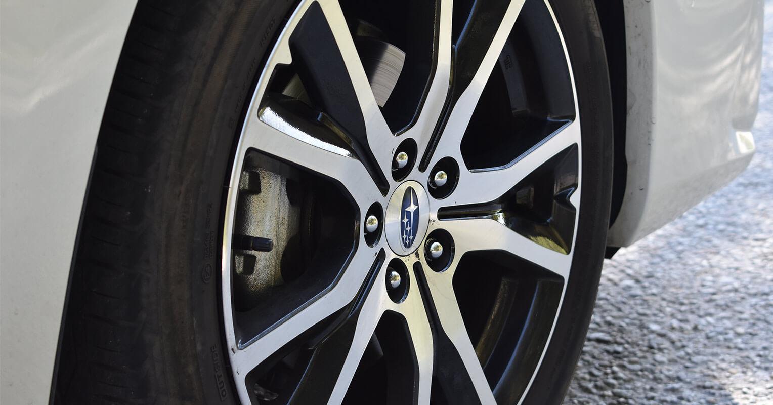 Llantas de aleación del Subaru Impreza 2018