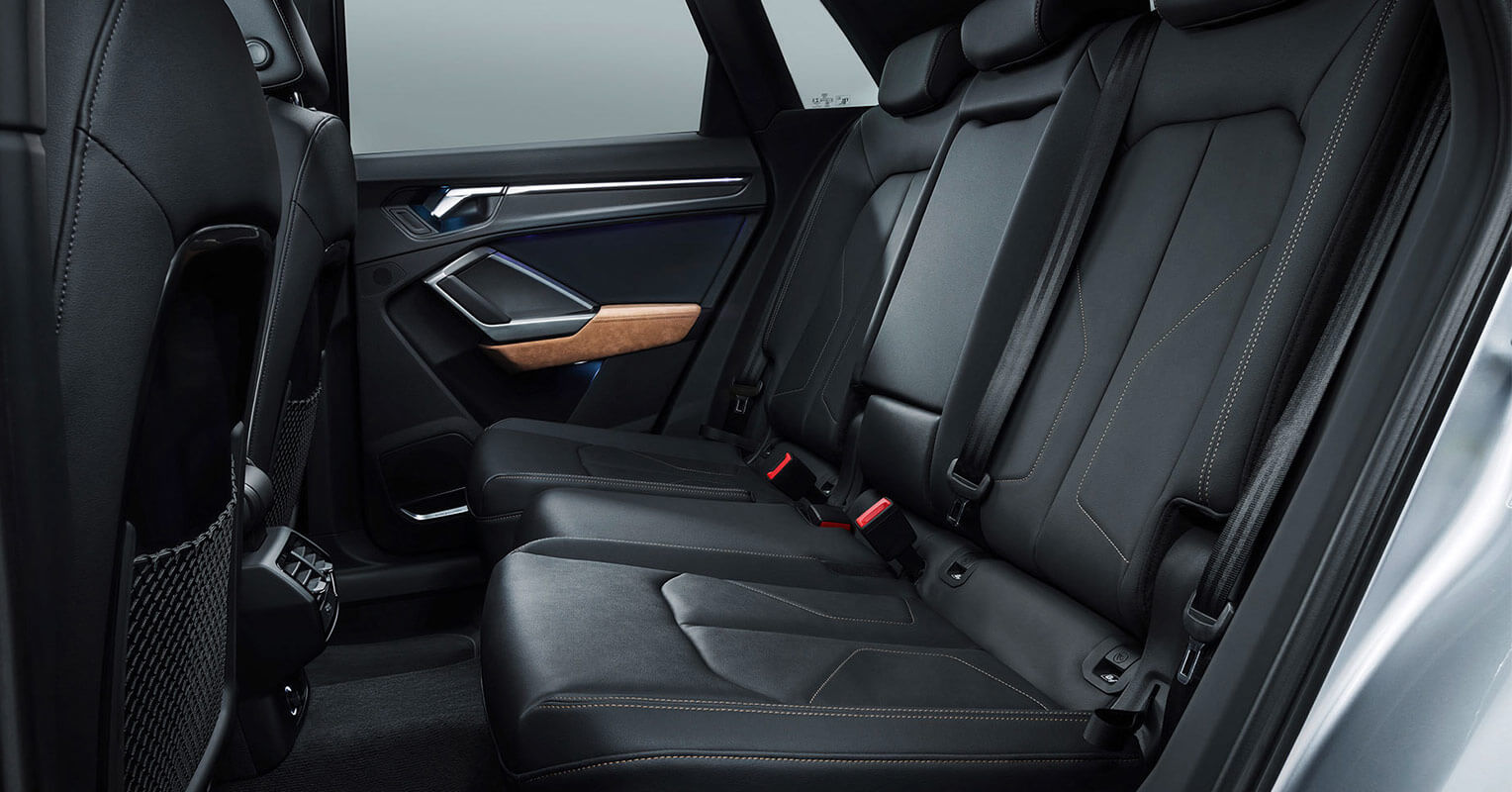 Plazas traseras del Audi Q3 2019
