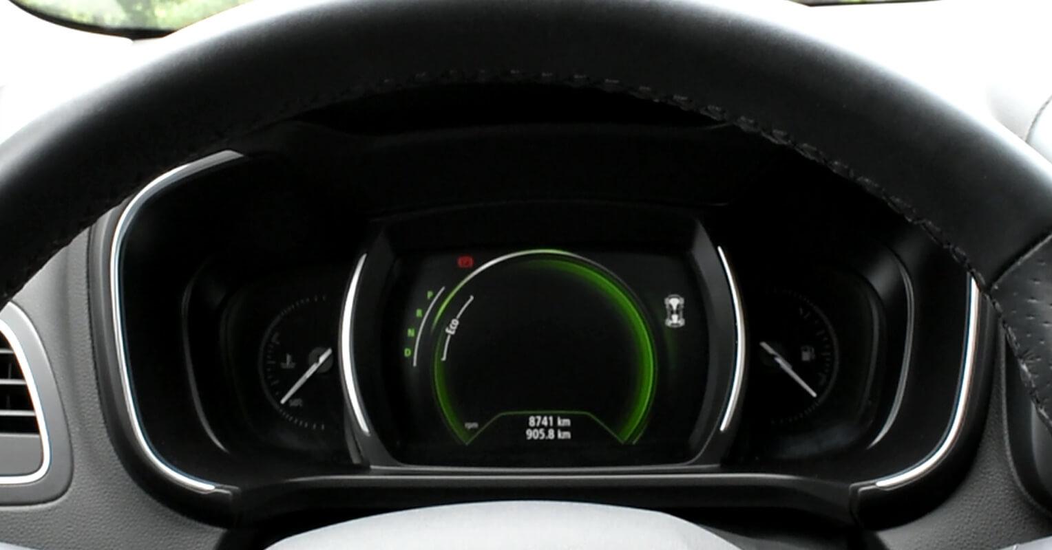 Instrumentación del Renault Koleos