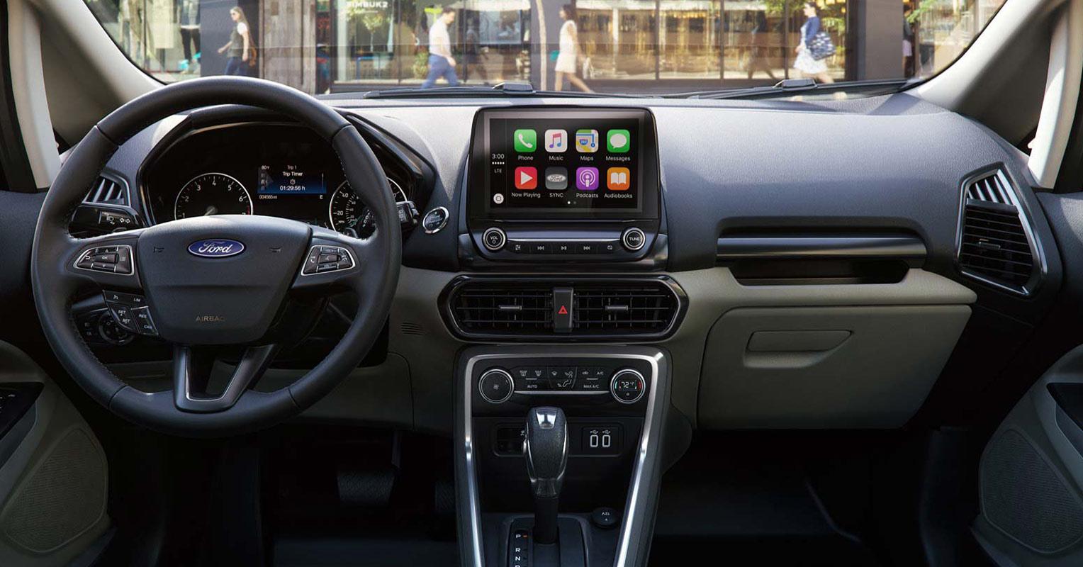 Interior del Ford EcoSport 2018