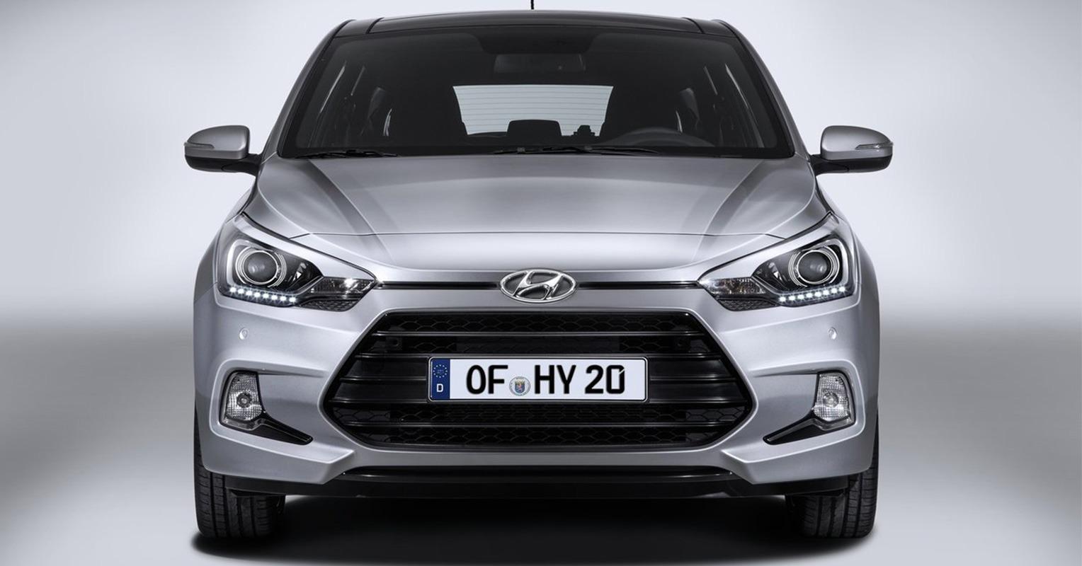 Frontal del Hyundai i20 Coupé