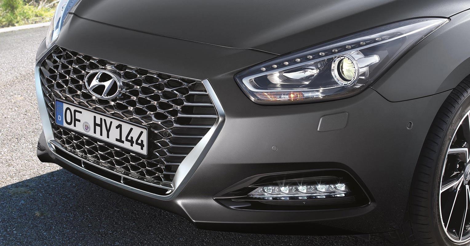 Frontal del Hyundai i40 2019