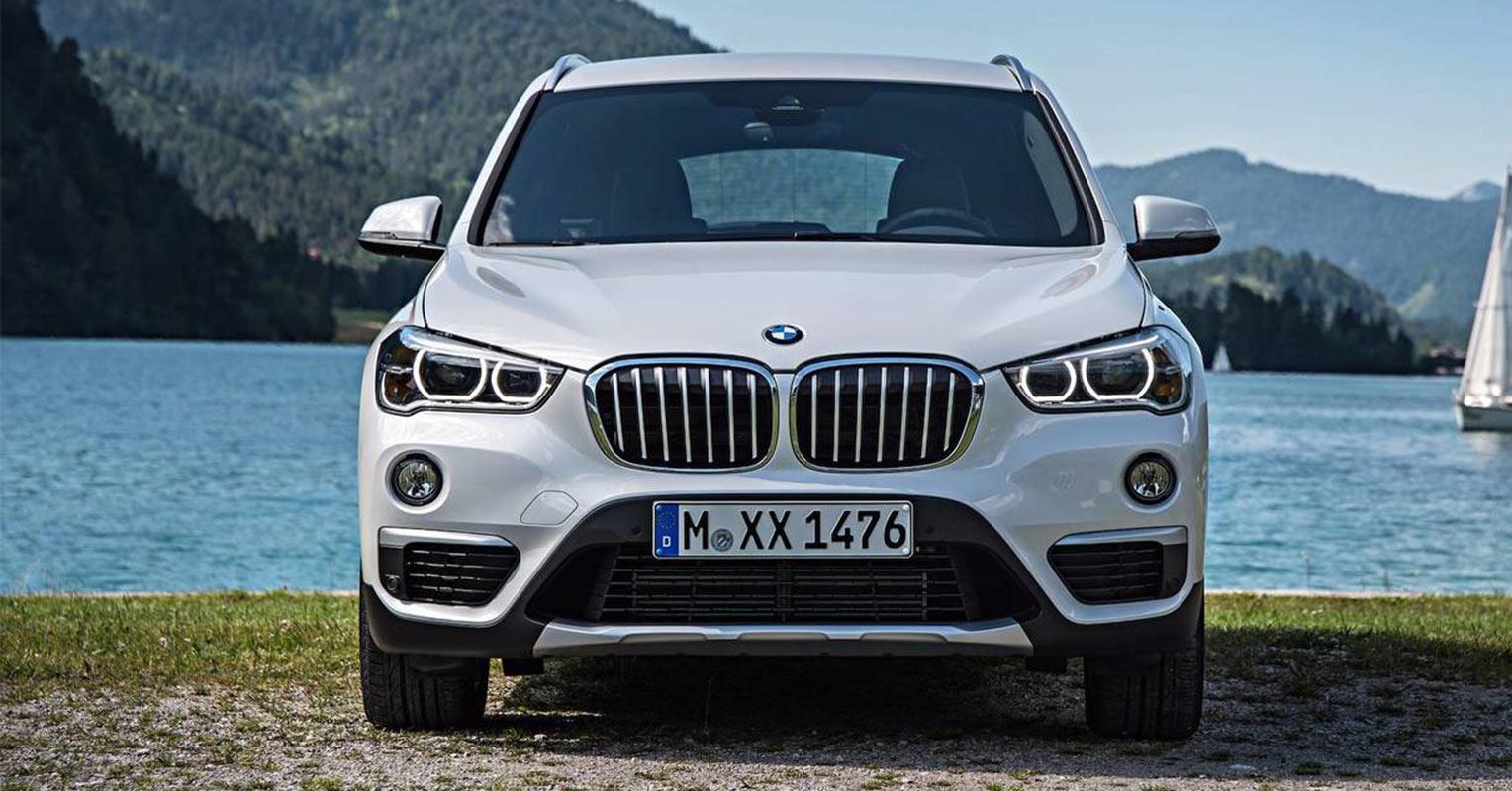 Frontal del BMW X1