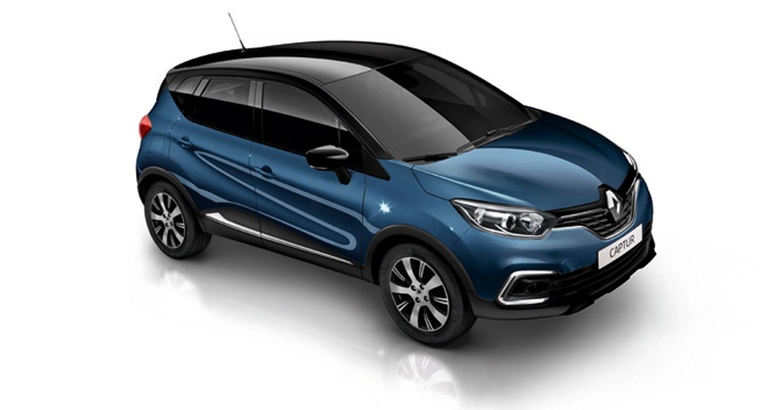 Lateral del Renault Captur