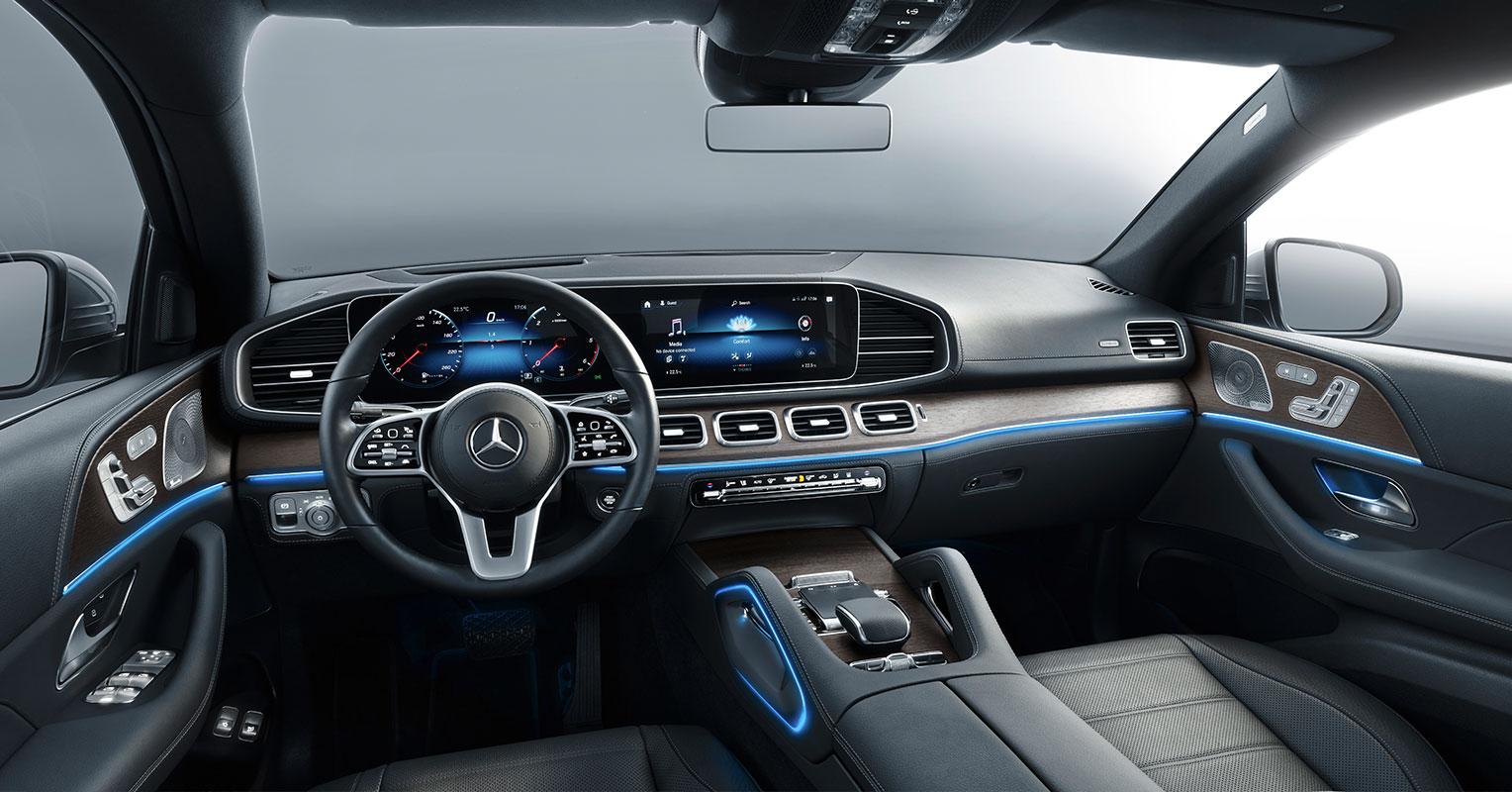 mercedes-benz gle coupé interior