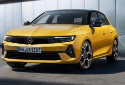 Opel Astra 2022: características, fecha y precios